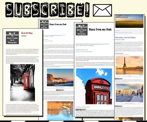 Past Newsletters and Announcements
