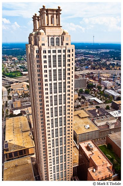 Picture of the 191 Peachtree Tower in Atlanta, Georgia