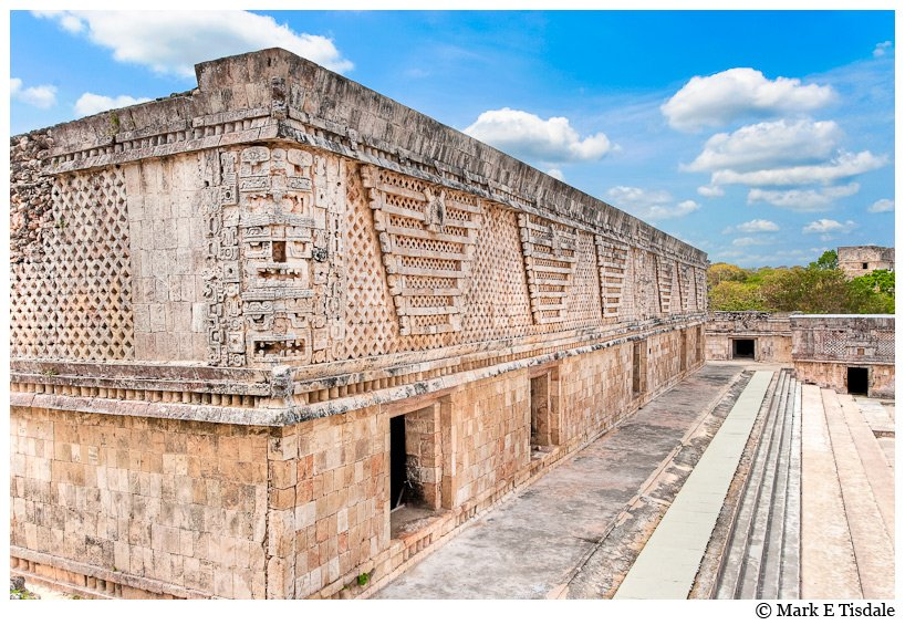 Picture of the Mayan Ruins at Uxmal