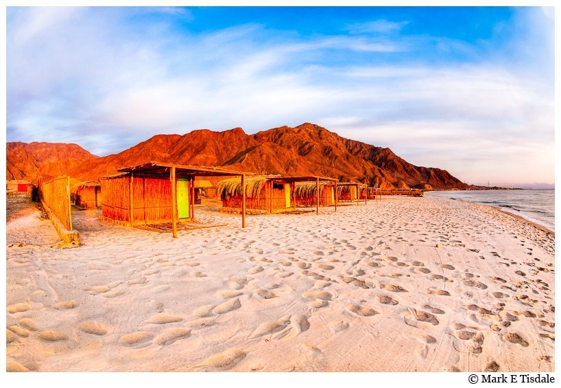 Egypt Beach Photo - The Red Sea