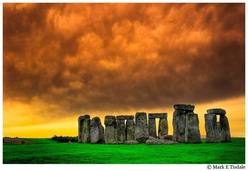Photo of Stonehenge with dramatic skies - Taken in early Autumn