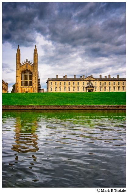 Photo of King's College from the River cam