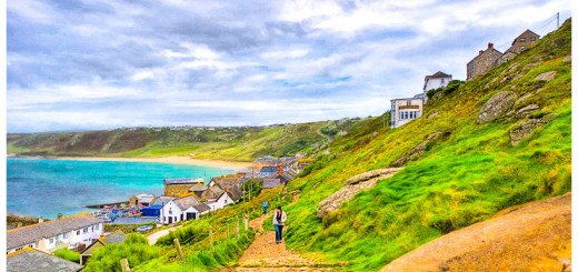 Photo Art of Sennen Cove in Cornwall