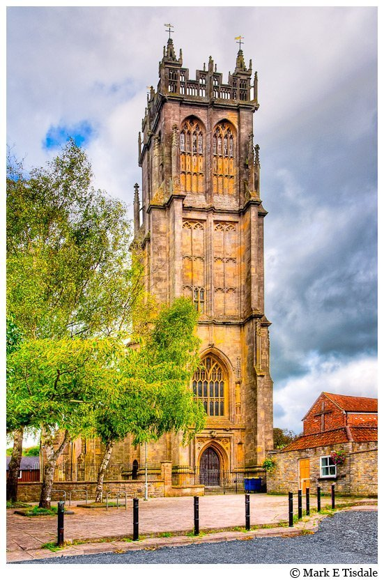Picture of the Parish Church - Saint John's - Glastonbury