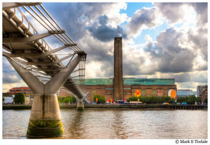 London Picture - the Old Bankside Power Station now the Tate Modern