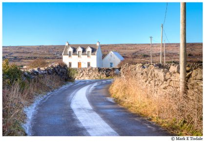 Photo of a cottage on the Aran Islands - Inishmore