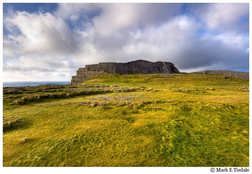 Photo of ancient ruins on Inis Mór - the largest of the Aran Islands in Ireland