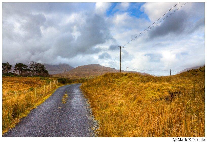 Landscape Photo taken in Connemara Ireland near Leenane