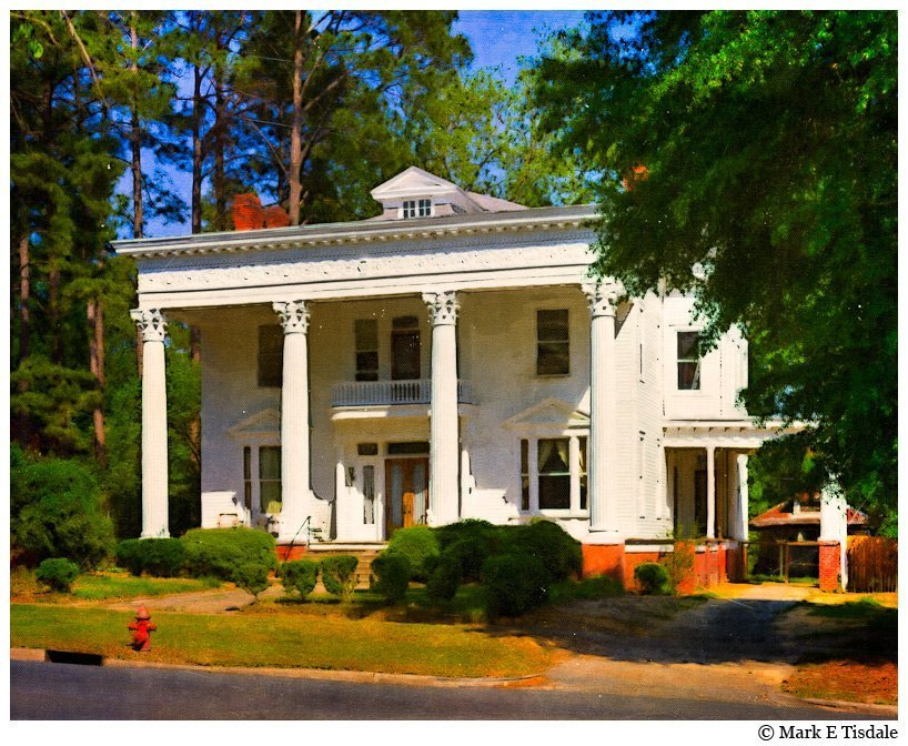 Heritage Photo - Vintage Styled - Montezuma, Georgia McKenzie Home