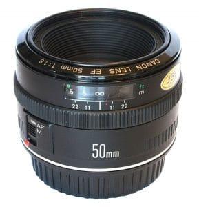 Canon EF 50mm f18