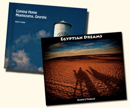 Cover Photos for Coming Home and Egytpian Dreams photo-books