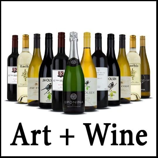 July Art and Wine Promotion - image courtesy of Fine Art America