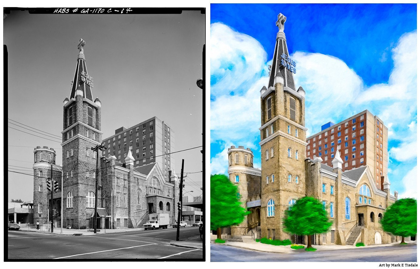 Before And After - Inspirationf For Big Bethel AME Artwork