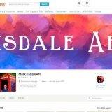 Selling On Etsy - Tisdale Art