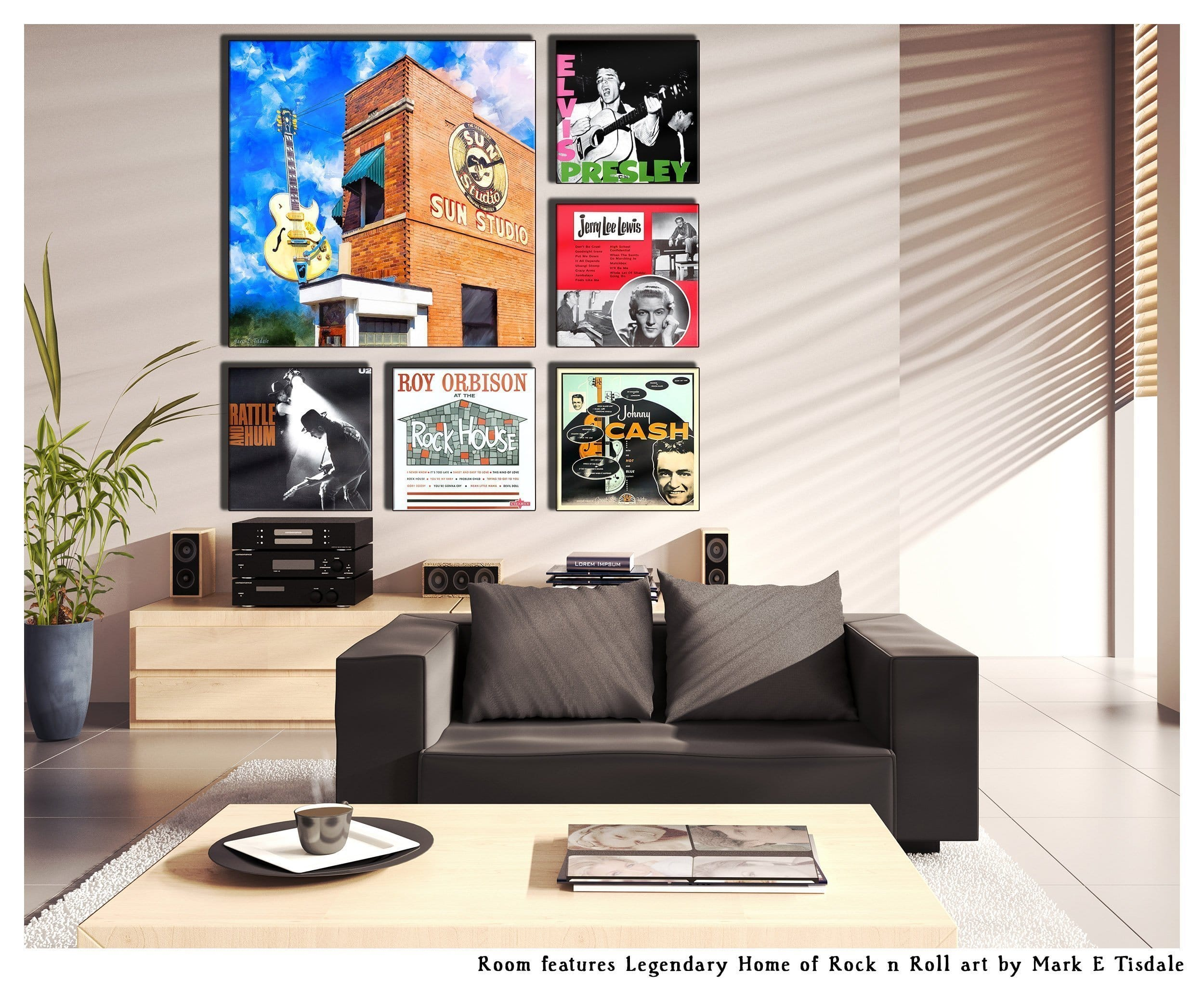 Display Ideas For Album Cover Wall Art And Large Art