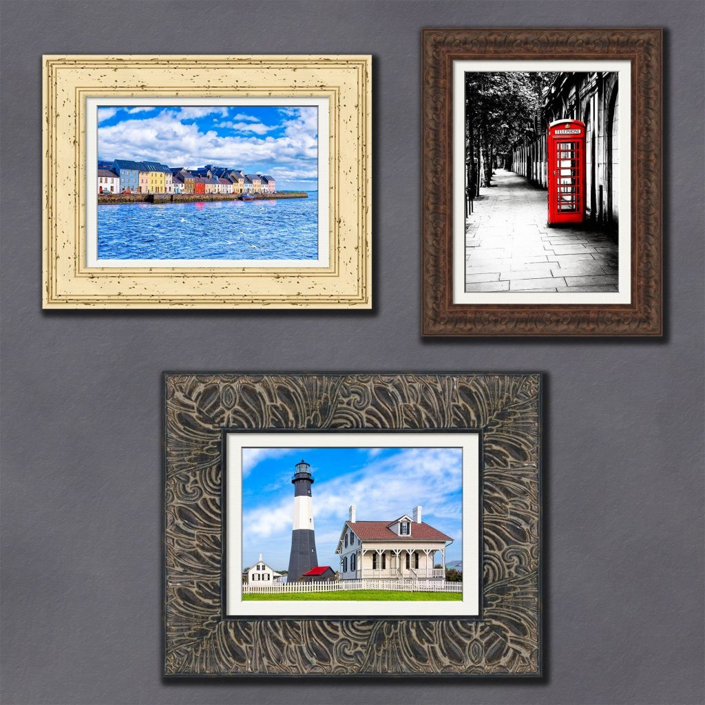 5x7 Greeting Cards As Framed Art