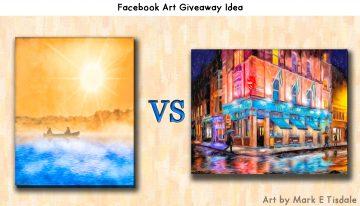 Facebook Art Giveaway Ideas - Fun Social Media Contests