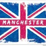 Social Media Tribute Flag for Manchester Arena Attack