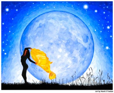 Art By The Light Of the Moon - Daughter Of the Moon Artwork