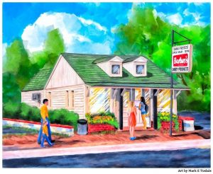 Auburn Art - Sanifreeze artwork by Mark Tisdale