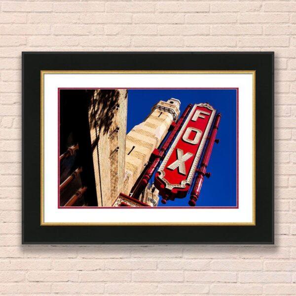 Atlanta Fox Theatre - Atlanta framed wall art by Mark Tisdale