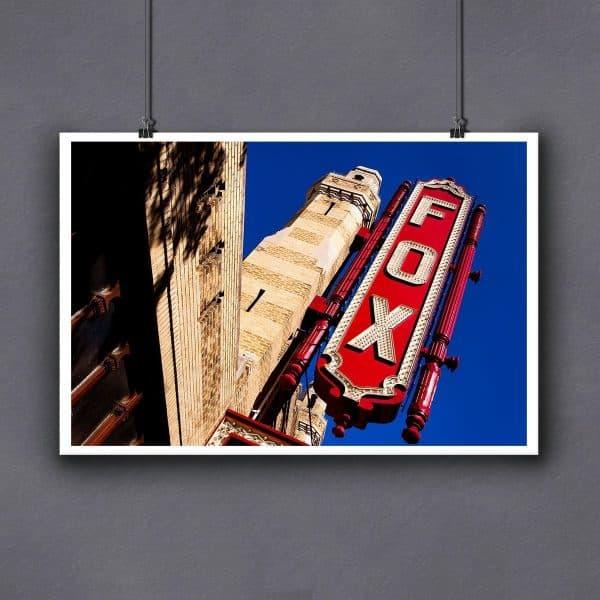 Atlanta Fox Theatre fine art print for framing by Mark Tisdale