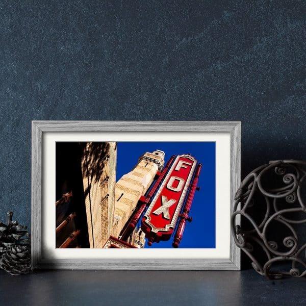 Atlanta Fox Theatre framed print  by Mark Tisdale