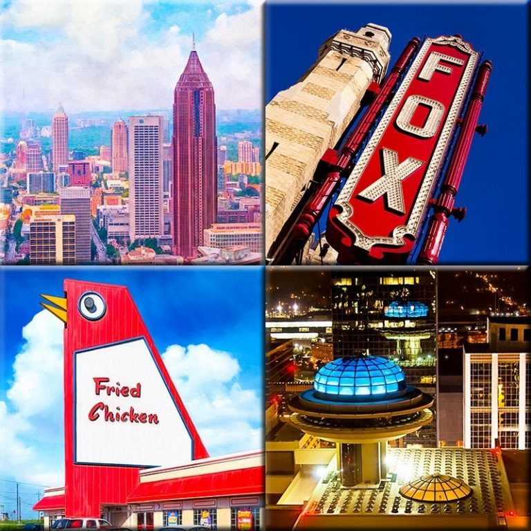 Atlanta Art Prints Collection By Georgia Artist Mark Tisdale