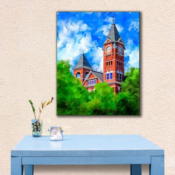 Classic Auburn University - Samford Hall Canvas Print