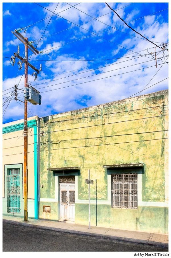 Mérida - Mexican Streets Art Print by Mark Tisdale
